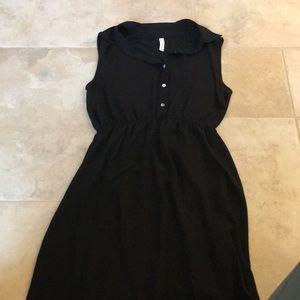 black dress; gently worn
